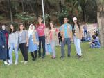 3 Anna in the middle of ADRA Lebanon volunteers
